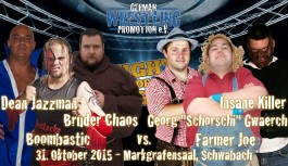 6-Men Tag-Team Match bei Night of Decisions